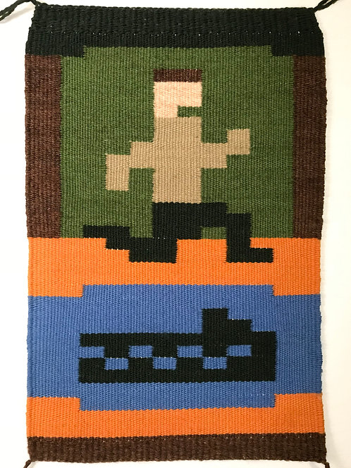 Pixel Art Banner: Pitfall