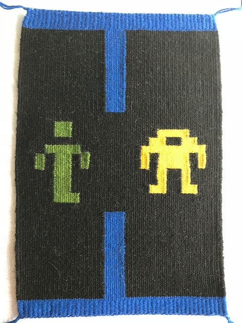 Pixel Art Banner: Berzerk