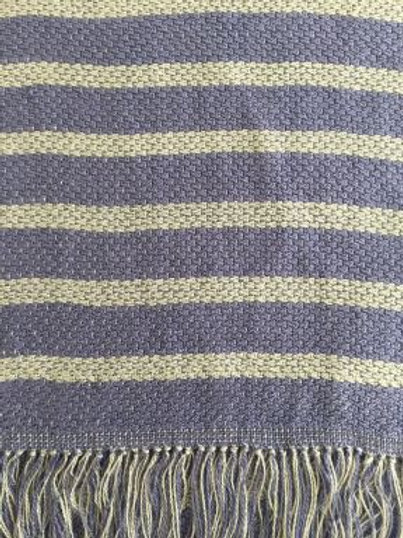 Lavender/Silver Bamboo Scarf