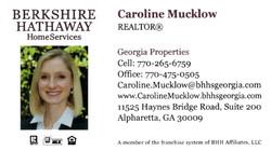 Caroline Mucklow, Realtor
