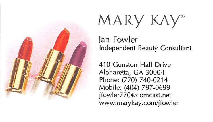Jan Fowler, Mary Kay