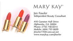 Jan Fowler, Mary Kay