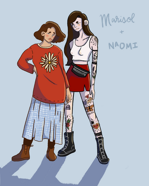 Marisol and Naomi