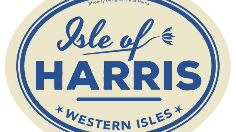 Isle of Harris car sticker