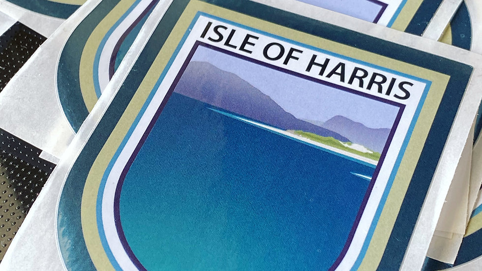 Isle of Harris classic car sticker