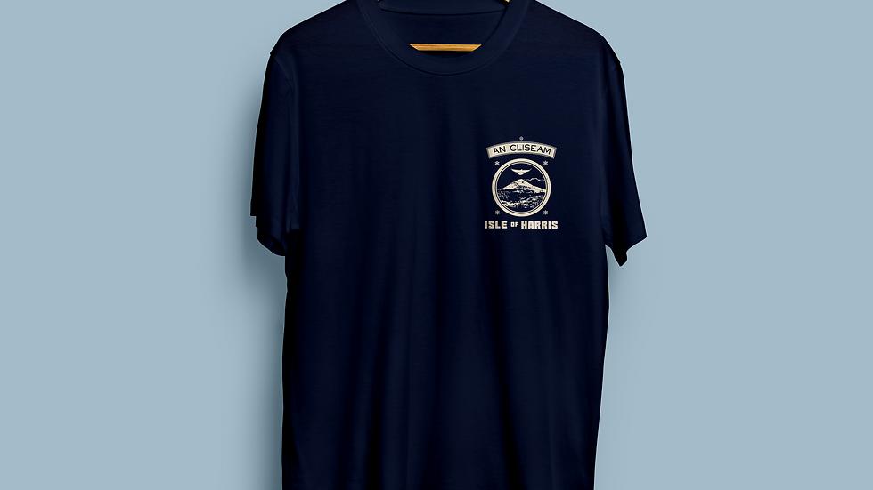 An Cliseam t-shirt