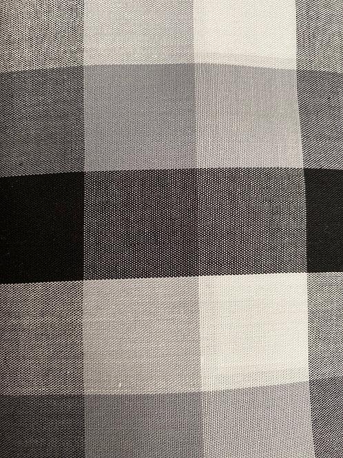 Gray & black checkered