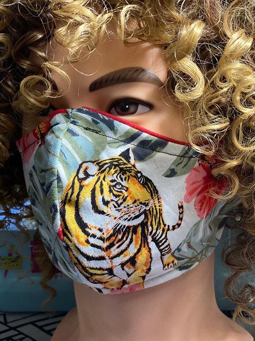 Tiger face Masks