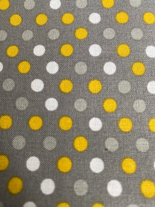 Yellow & gray dots