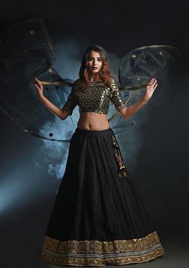 Shruti S black lehenga.jpg