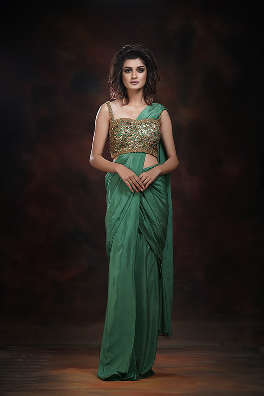 Shruti S draped saree crepe.jpg