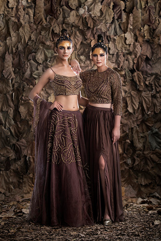 Croptop skirts and light weight lehengas
