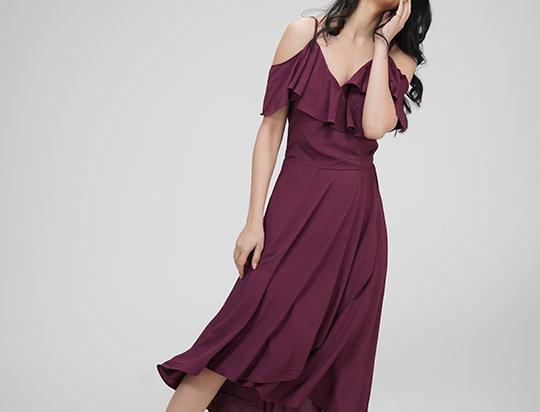 Little Wrap Dress