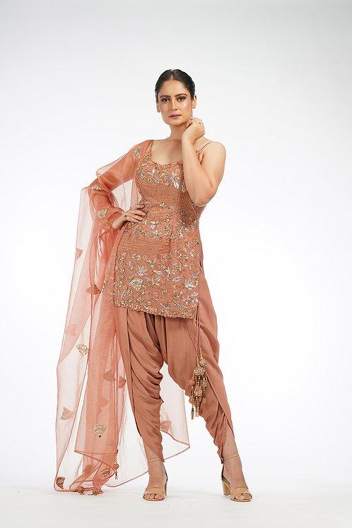 The Modern Salwaar suit.