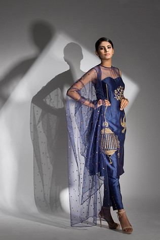 Shruti S light weight embroidered suit.j