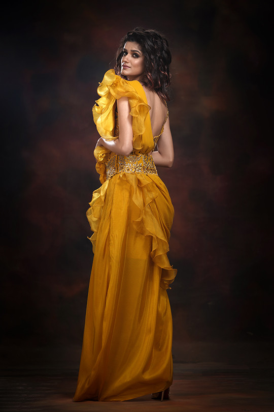 shruti s frill sari yellow.jpg