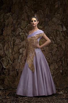 Shruti S peacock gown.jpg