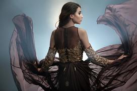 Shruti S Cold-shoulder gown.jpg