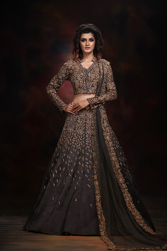shruti s grey and gold lehenga choli.jpg