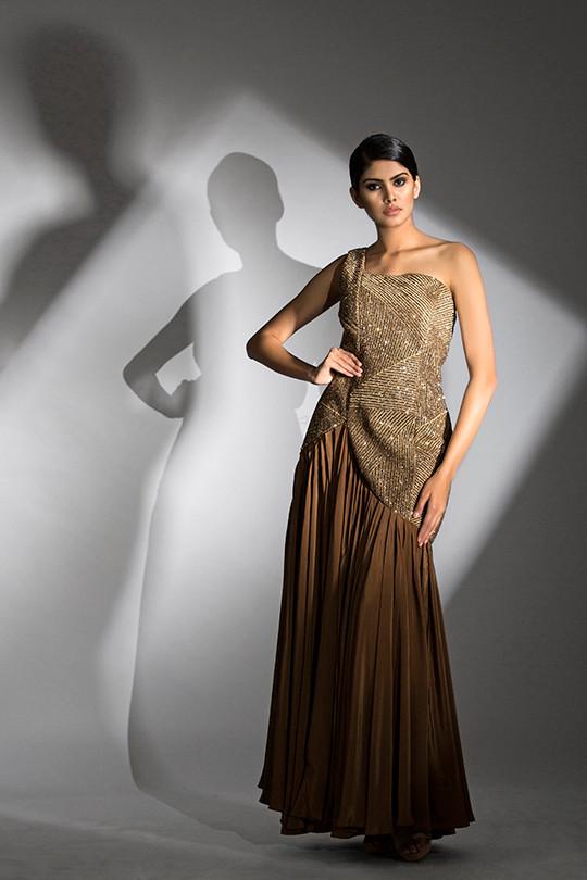 Shruti S one-shoulder gown.jpg
