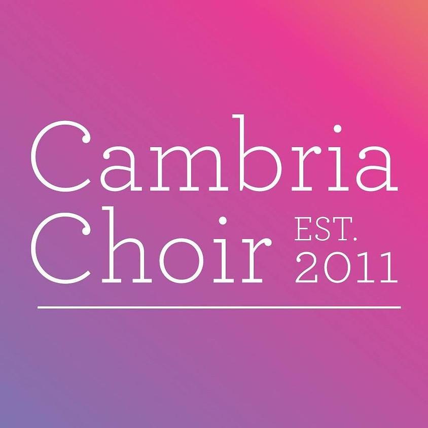 CAMBRIA CHOIR - THURSDAYS 7pm - 9pm