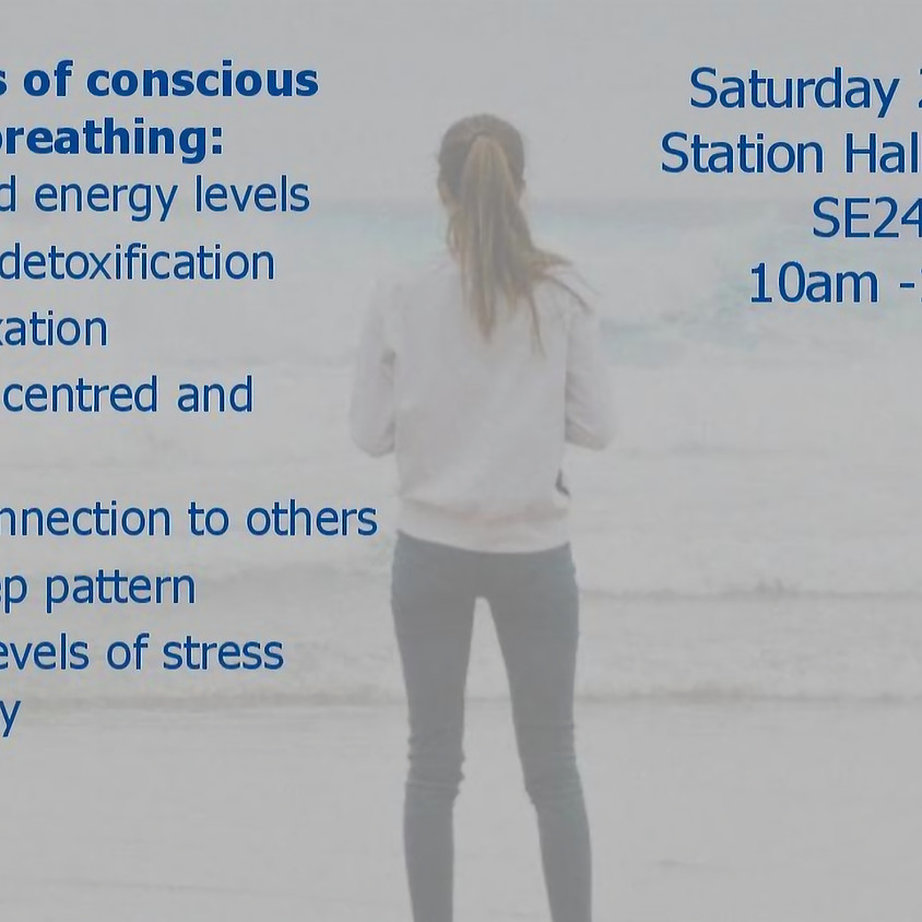 23 MARCH - Conscious Connected Breath Circle