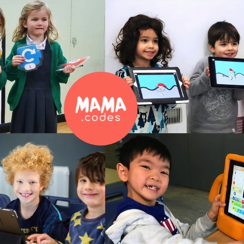 15 APRIL - MAMA.Codes Easter Coding Club for 4-8 yr olds