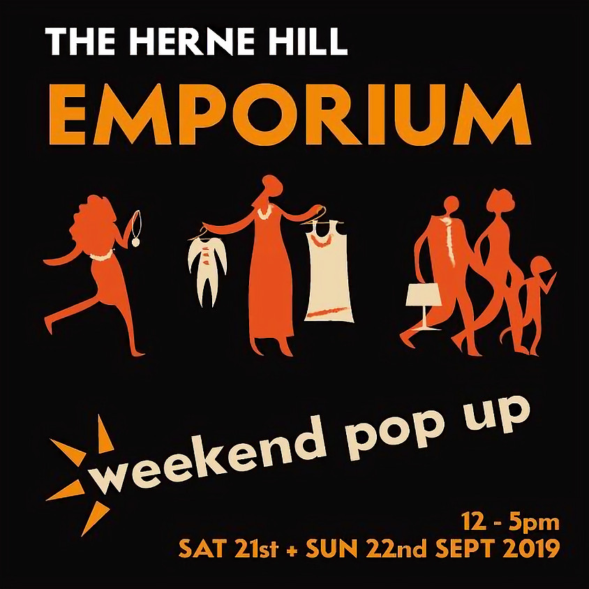 SAT 21 & SUN 22 SEPT - The Studio Circle present: The Herne Hill Emporium!