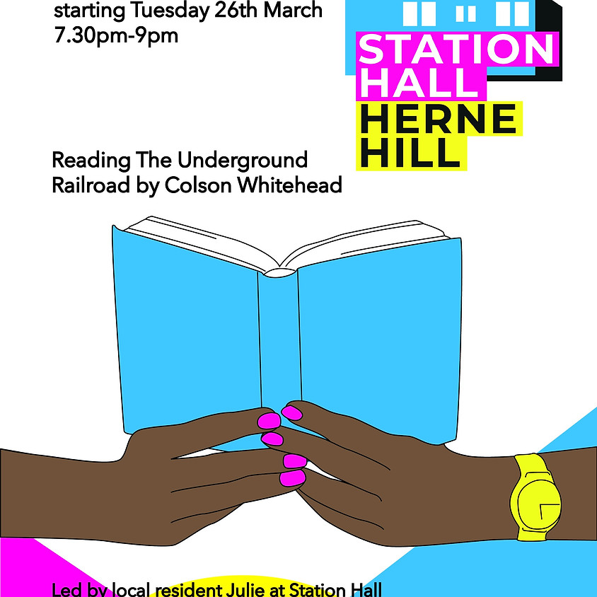 26 MARCH - Monthly Station Hall Book Club