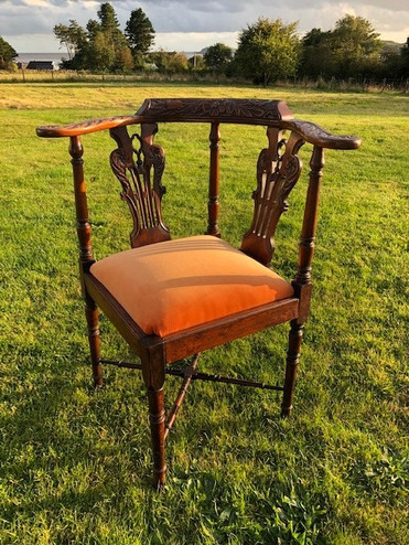 Rebecca McLellan - Corner Chair