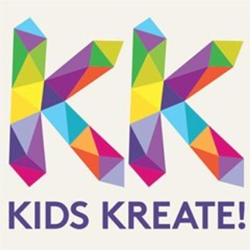 THURSDAYS 4PM - 6PM Kids Kreate Art Club