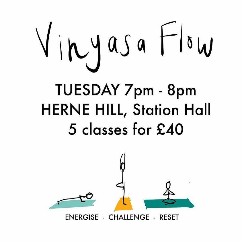 Dynamic Vinyasa Flow Yoga