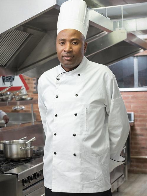 Piri-Piri Executive Chef Jacket Men's - White
