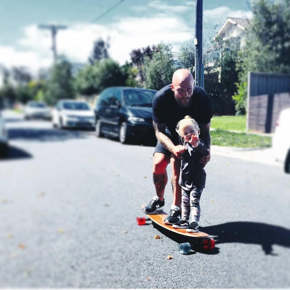 Skateboard cruiser longboard skateboard