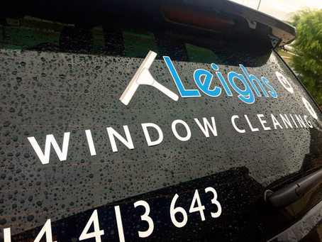 Does wet weather prevent you from Window Cleaning?