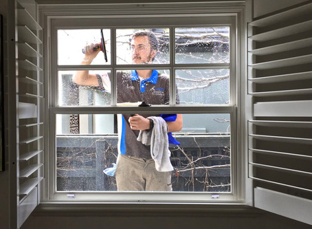 FREE WINDOW CLEANING-1 referal=20% off, 5 referrals=TOTALLY FREE CLEAN. The referral rules!