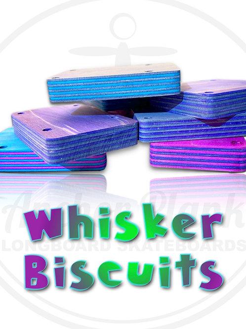 Whisker Biscuits Custom Skate Truck Risers