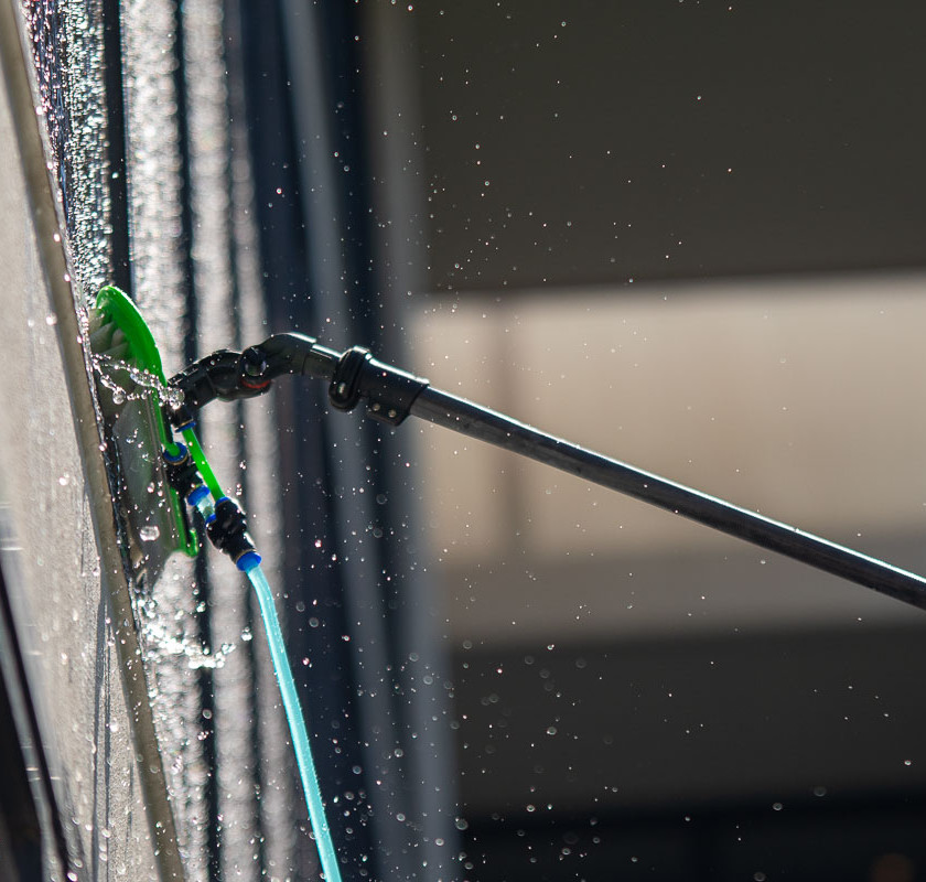 Water Fed Pole window cleaning Leighs Window Cleaning