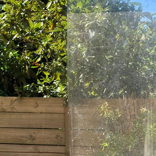 Leighs window cleaning before after