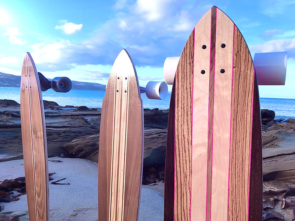 Anchor Plank Skateboards at Lorne