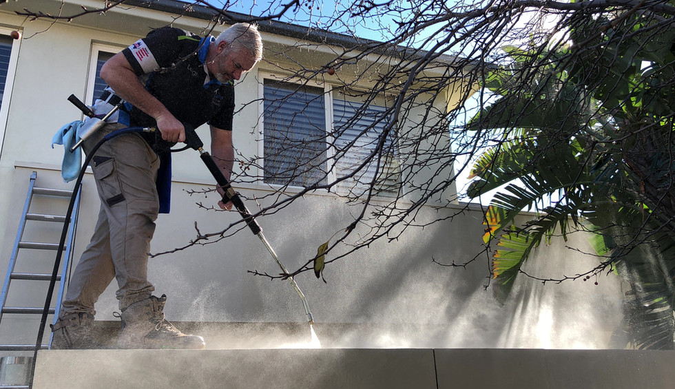 Pressure cleaning Leighs window Cleaning