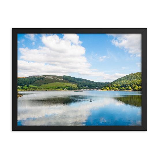 Lady Bower Dame print Framed