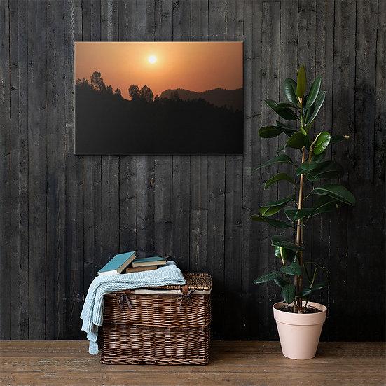 Morocco Sunset Canvas
