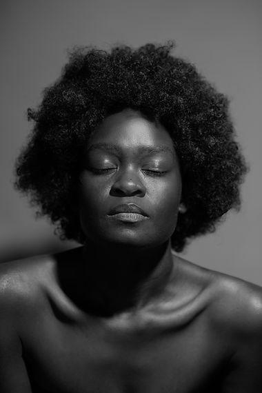 Rankin 2020 image featured on sky arts black woman afro beauty Croydon