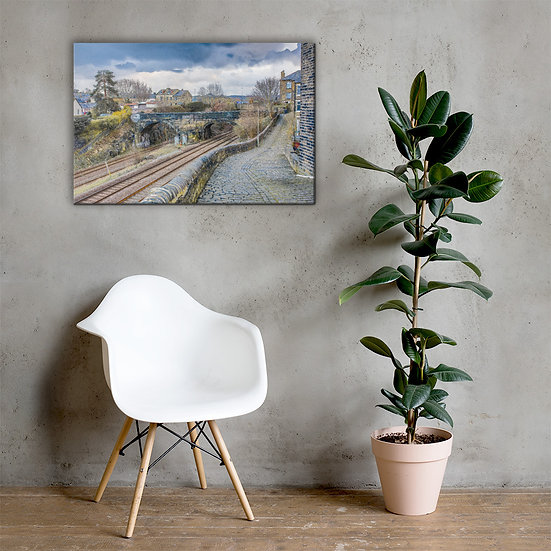 Halifax Train bridge Canvas
