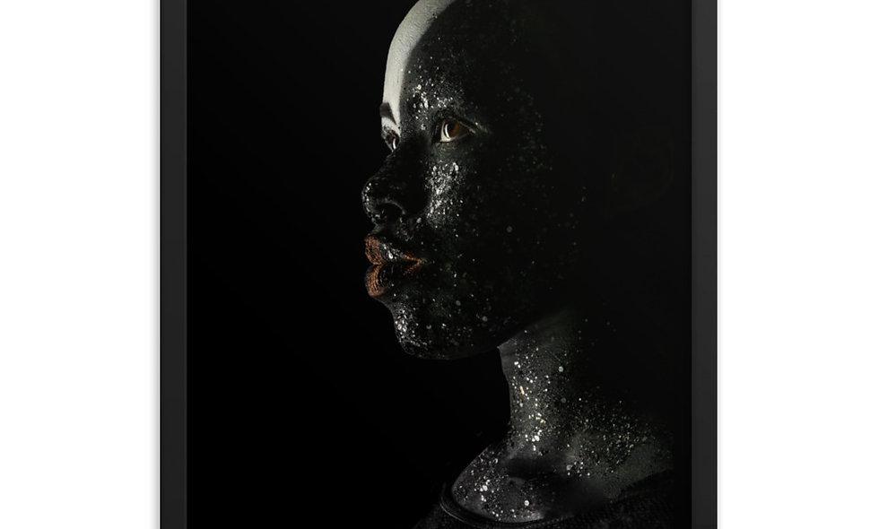 Beautiful Glitter Low Key Fantasy Framed Poster