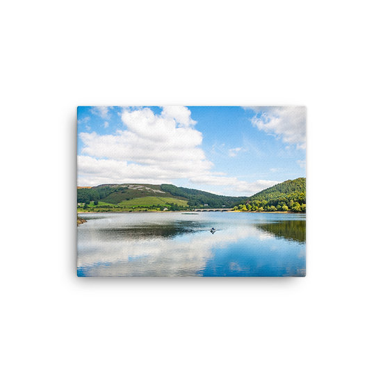Lady Bower dame District Canvas