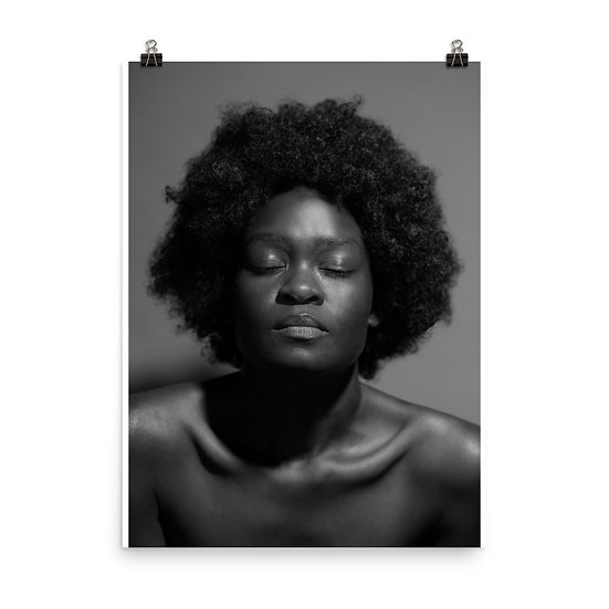 Afrocentric Natural Beauty Print