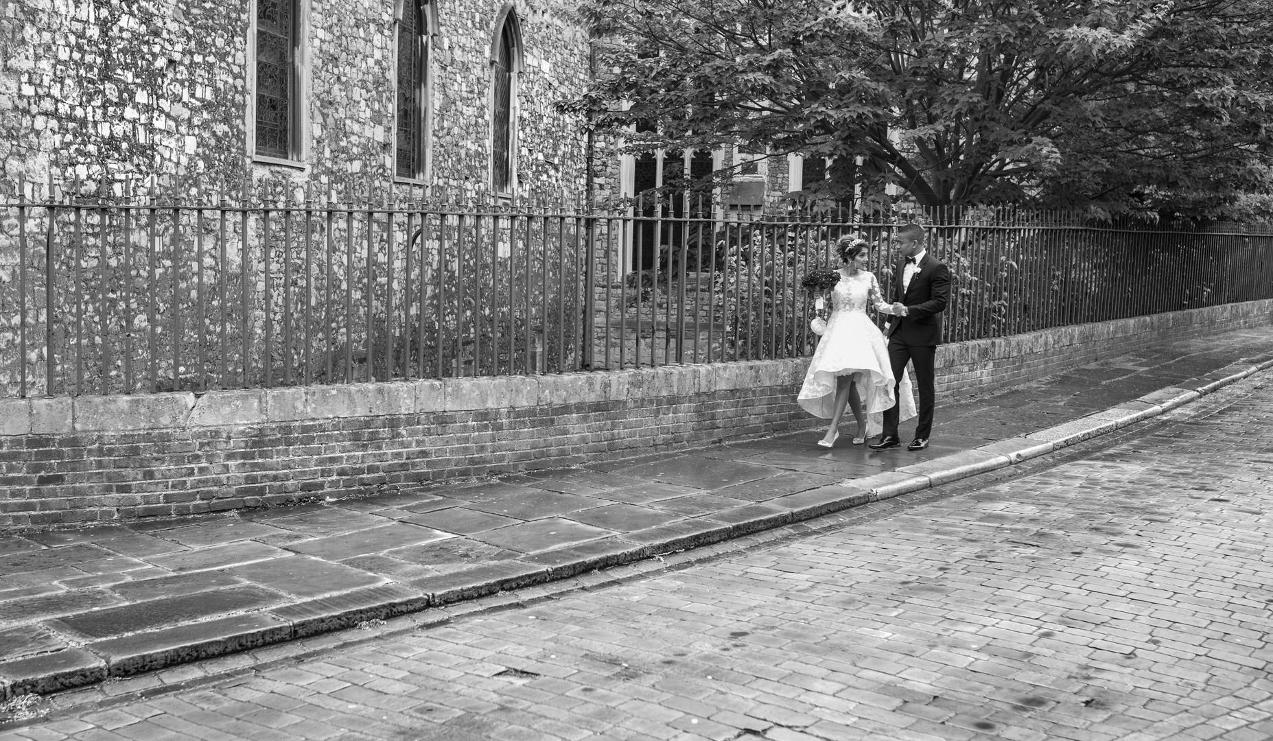 Stylised couple shoot
