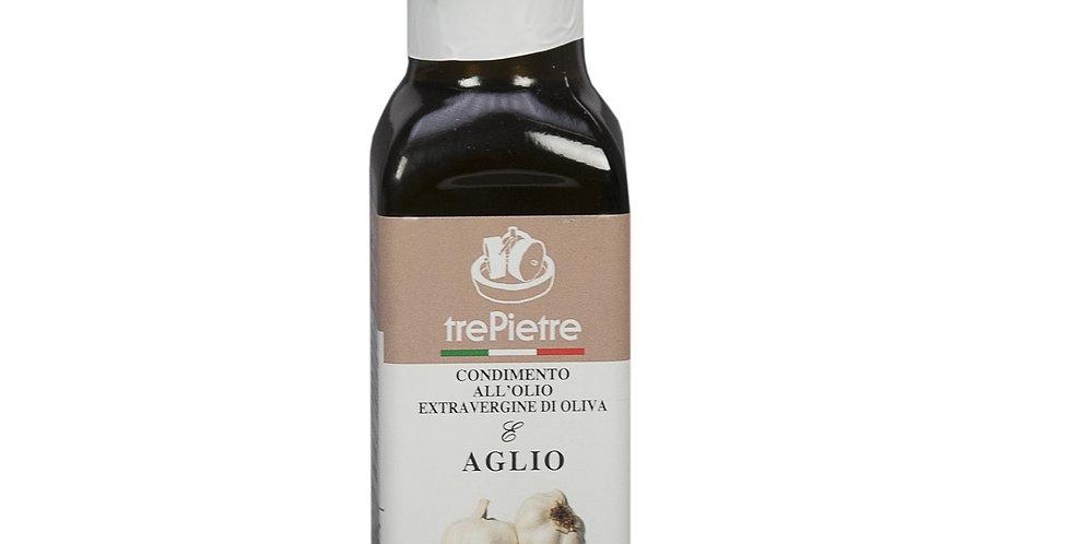 Olio EVO aromatizzato all'aglio